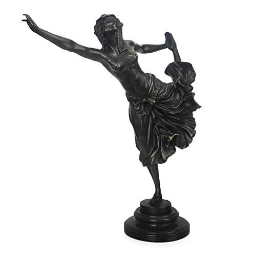 World Art TW60441 Bronzen sculptuur Ballerina, Brons, 41x36x13 Cm