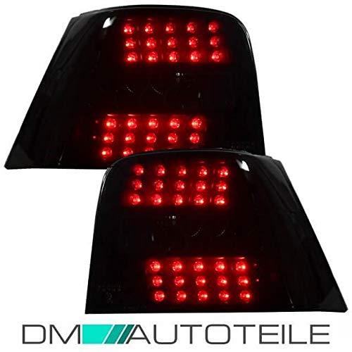 DM Autoteile Golf IV 4 LED Rückleuchten Tief Schwarz Limousine 97-2003 Full LED TDI GTI R