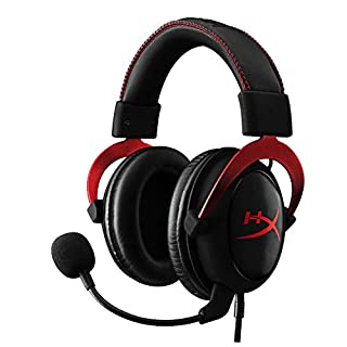 HyperX Cloud II Gaming Headset - 7.1 Surround Sound - Memory Foam Ear Pads - Durable Aluminum Frame - Multi Platform Headset - Works with PC, PS4, PS4 PRO, Xbox One, Xbox One S - Red (KHX-HSCP-RD) (B00SAYCXWG) | Amazon price tracker / tracking, Amazon price history charts, Amazon price watches, Amazon price drop alerts