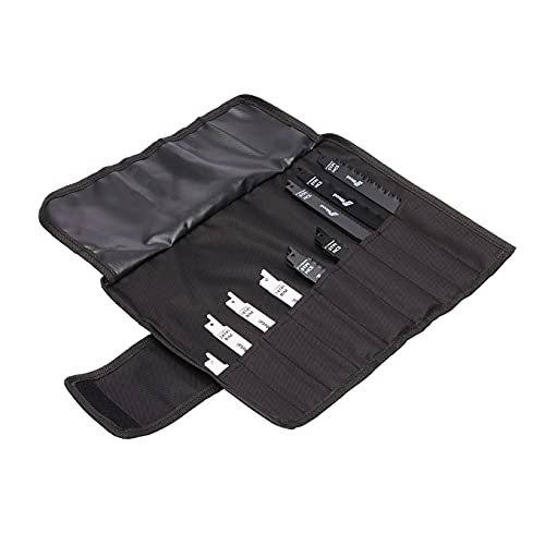 Amazon Basics Reciprocating Saw Blade Set with Organizer Pouch, 32-Pieces