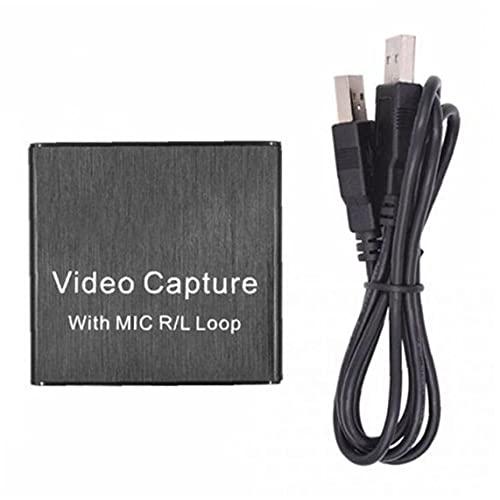 Video Capture scheda di acquisizione scheda HD USB 3.0 ad Alta definizione 1080p 60fps Live Streaming Conveniente e Non facile da rompere Recorder per Windows Mac