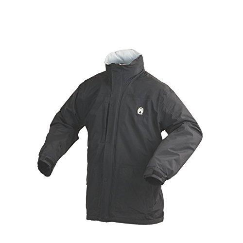 Coleman Men's Fleece Lined Jacket, Black, Medium