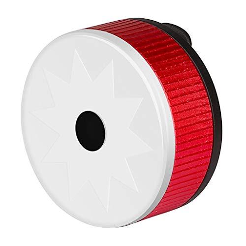 Colcolo Luz LED USB Recargable, Luz Trasera para Bicicleta, Luz Trasera, Señal de Seguridad - Rojo