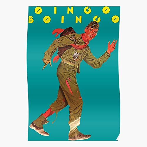 ARCHERS New Dead Oingo Wave 80S Boingo Mans Electronic 1980S The Best and Style Home Decor Wall Art Print Poster with only Size 16x24 inch