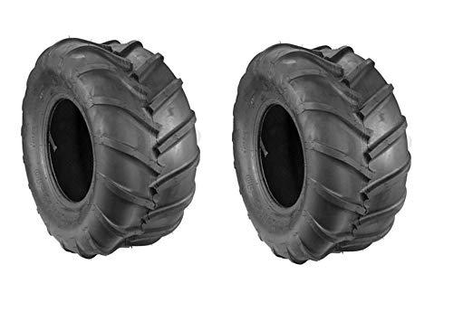 Two New 22X11.00-10 Kenda K472 Zero Turn Mower Tires 22X11-10 Some Grasshopper Staggered BAR Tires