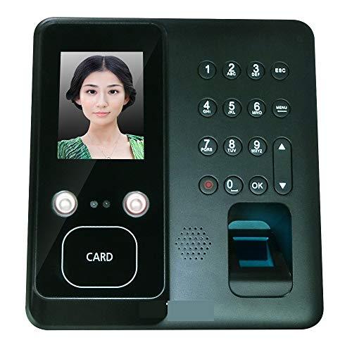 HEQIE-YONGP Timeuhren für Mitarbeiter Kleinunternehmen Zeiterfassungssystem biometrische Fingerabdruck-Zeit-Anwesenheits-Zeit-Taktgeber-Recorder mit USB