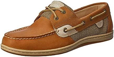 Sperry womens Koifish Boat Shoe, Linen/Oat, 8.5 US