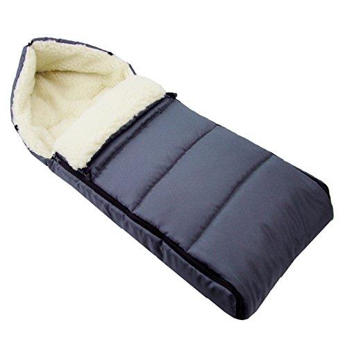 BAMBINIWELT universaler Winterfußsack (90cm), auch geeignet für Babyschale, Kinderwagen, Buggy,...