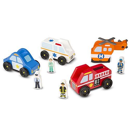 Melissa & Doug Emergency Vehicles
