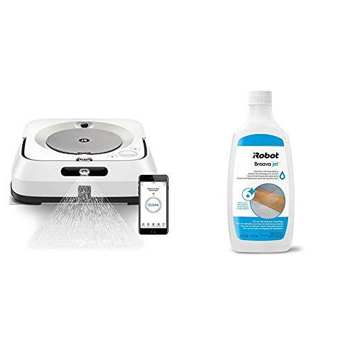 iRobot Braava Jet M6 (6110) Ultimate Robot Mop and Hard Floor Cleaning Solution, Compatible with All Robot Mops