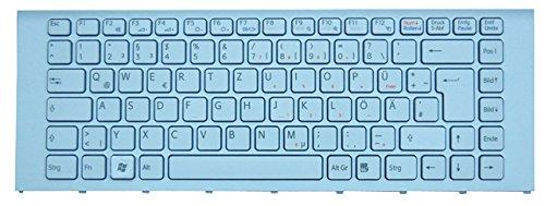 NExpert QWERTZ Tastatur für Sony Vaio PCG-61211M Serie DE schwarz mit Rahmen Neu