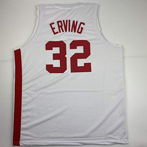 Unsigned Julius Dr. J Erving New York White Custom Stitched Basketball Jersey Size Men's XL New No Brands/Logos