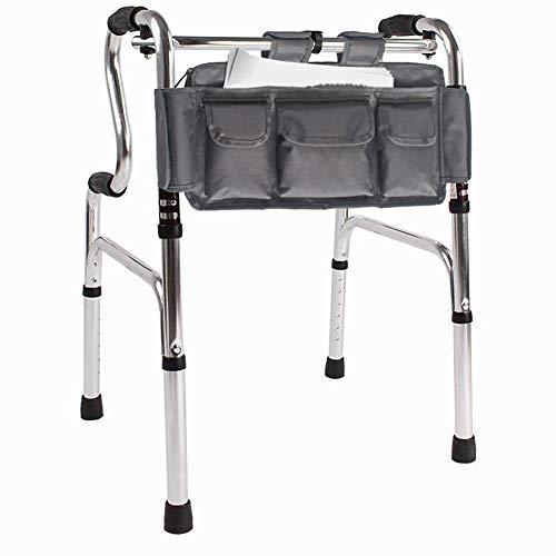 SXFYWYM Bolsa Universal De Bolsillo para Andador Bolsillos Múltiples Accesorio para Manos Libres Bolsa De Almacenamiento para Carrito Bolsa De Canasta para Discapacitados