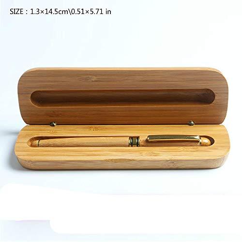Holzkugelschreiber Geschenkbox Set Holzkiste Verpackung Schreibwaren Aufbewahrungsbox Holzkugelschreiber Geschenk Kugelschreiber Geschenkbox