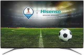 Hisense 55 Inch 4K ULED Smart TV, Black - 55P7A