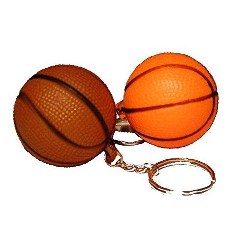 Lot de 2 Porte cle ballon de basket-Modèle Aléatoire-Sport Clé Kermesse-271