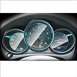 OceanAutos para Porsche Macan 2018 2019 2020, Membrana del Panel de Instrumentos Interior del automóvil, Pantalla LCD, película Protectora de TPU, película antiarañazos