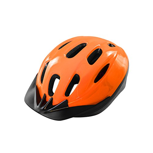 Cycle Force 1500 ATB Cycling Helmet, Black, Adult (56-60 cm)
