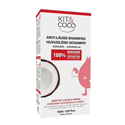 KIT & COCO Shampooing Traitant Anti-Poux et Lentes (150ml)
