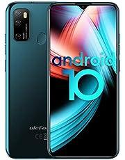 4G-Mobiele Telefoons Ulefone Note 9P Smartphone zonder Contract 6,52-inch Scherm 4GB+64GB Octa-Core 16MP+8MP Drievoudige Achteruitrijcamera, 4500 mAh accu Android 10