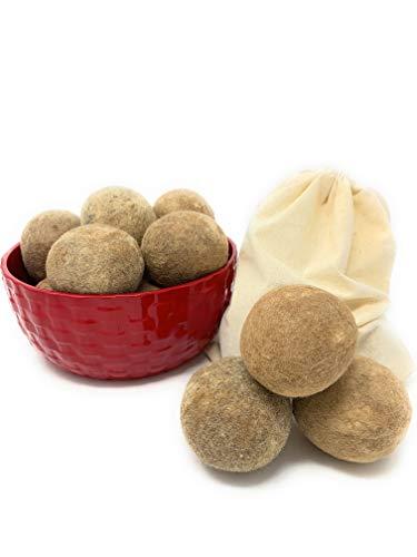 Alpaca Home - 100% Alpaca Wool Dryer Balls -...