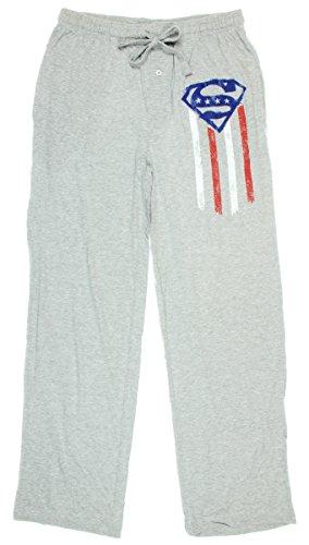 Superman Flag Mens' Sleep Pants (XX-Large)