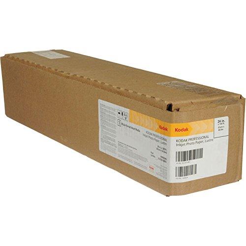 KODAK Professional Lustre 24 formaat 60,96 cm x 30,5 m, gewicht 255g/m2, plotterpapier fotografie, plotter fotopapier, wit