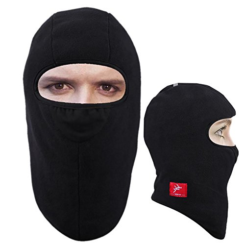 MOOCY Balaclava Windproof Ski Mask - Cold Weather Face Mask for Skiing, Snowboarding, Motorcycling & Winter Sports. Ultimate Protection from The Elements
