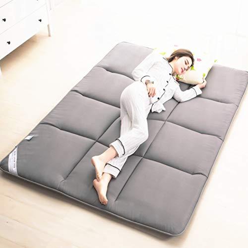 MPBYOU Japanisch Schlafen Tatami Bodenmatte,Multi-größe Atmungsaktiv Faltbare Bettrolle Matratzen-Pad Topper Schlafen Pad Cover Zu Dorm Startseite