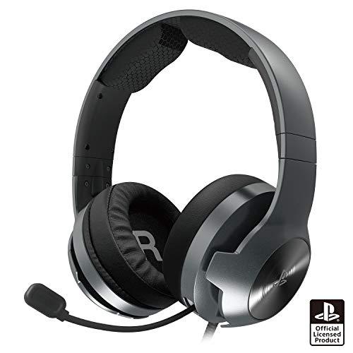 【SONYライセンス商品】ホリゲーミングヘッドセット プロ for PlayStation®4 ブラック【PS4対応】