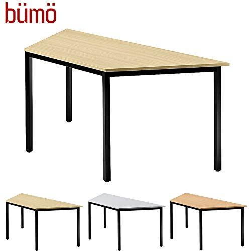 BÜMÖ Konferenztisch | Besprechungstisch für das Büro | Schreibtisch in 3 Farben & 4 Größen verfügbar | Büroschreibtisch (Ahorn, L = 160 cm...