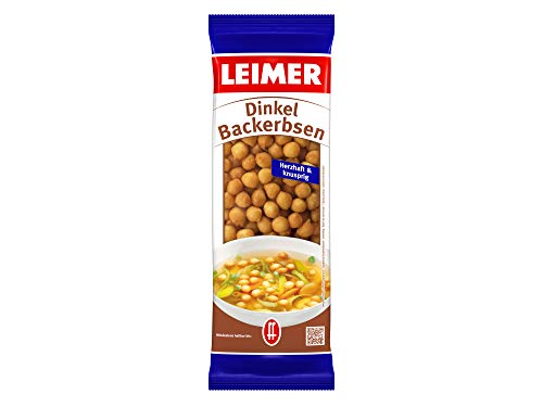 Leimer Dinkel-Backerbsen, 25er Pack (25 x 100 g), 037933