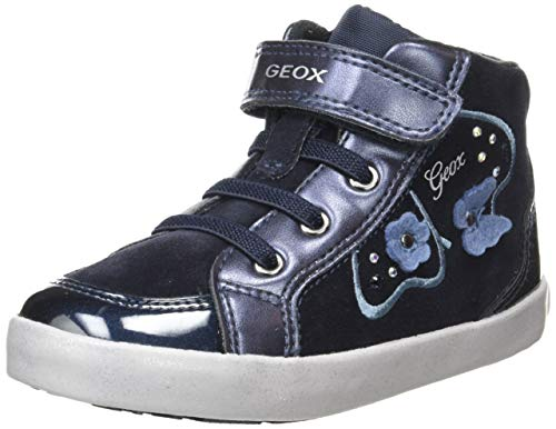 Geox Baby Mädchen B Kilwi Girl A Sneaker, Blau (Dk Navy C4021), 27 EU