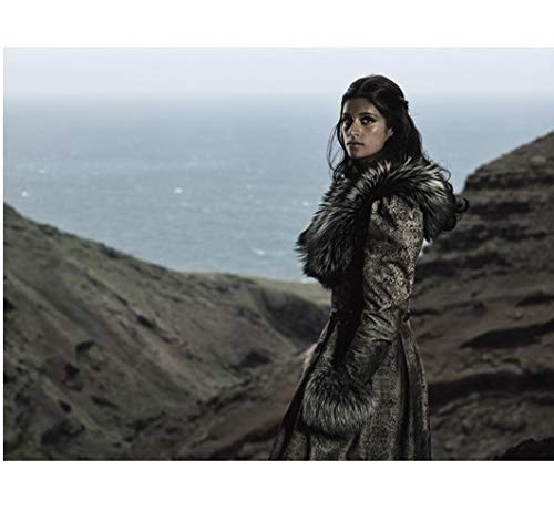 The Witcher Anya Chalotra as Yennefer Posing on Hills by Ocean 8 x 10 Inch Photo