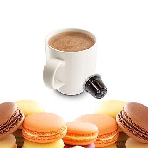 KICKKICK 50 Capsule Macaron alla Mandorla Compatibili Nespresso - Bevanda Solubile in Cialde