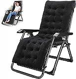 ZGZFEIYU Chair Zero Gravity Garden Sunbed Sun Lounger for Outdoor Relaxation,Chair Lounges Sun Lie Down Gravity on The Terrace, Porch, Garden MAX.440LBS