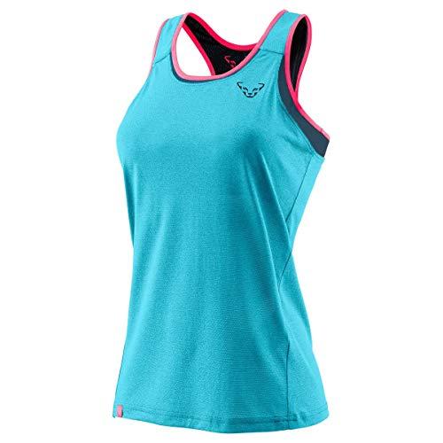 Dynafit Alpine 2/1 W Tank Débardeur pour Femme, Femme, t-Shirt sans Manches, 08-0000071189, Turquoise (Silvretta 8960), 48