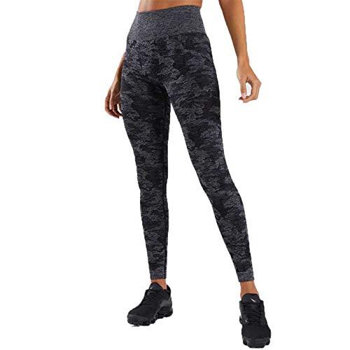 TAWXR Pantalones de yoga de cintura alta desgaste deportivo para las mujeres Gimnasio Energía Polainas sin costuras Pantalones de compresión Athletic Leggings Deporte Mujeres