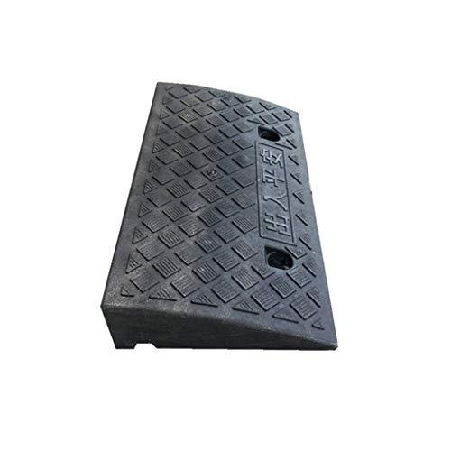 CJXing Slope Pad Plastic drempelrampen, familie-trappen-helling-kussens voor in de tuin, vierkant, stappen-kussen, licht-regenbestendige rolstoelhelling, 7 cm/10,5 cm
