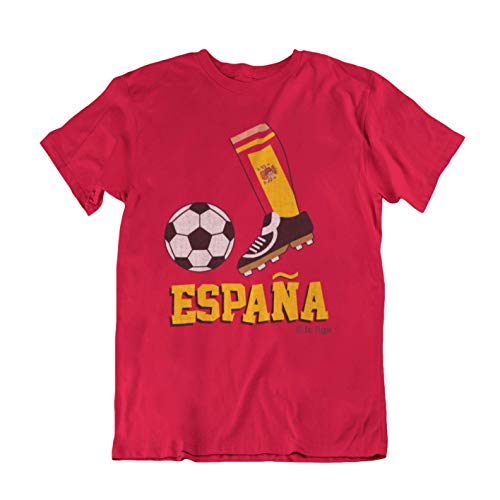 FC Liga Espana Spain Euros Football Boot - Camiseta para Niños con los Mejores Fans de 2020