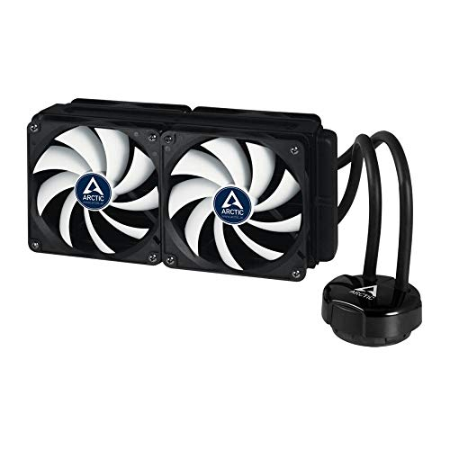 ARCTIC - Liquid Freezer 240, Refroidisseur Liquide, 4 ventilateurs, pour processeur 120 mm PWM, compatible AMD et Intel, MX-4 Pâte Thermique Inclue