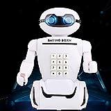 Youjin Code, hucha digital Money Bank, robot, hucha con código y lámpara, combo con música y voz, recargable, multifuncional, tanque de juguete para niños