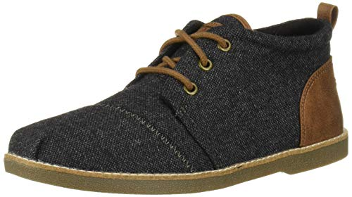 Skechers BOBS Women's Chill Luxe Ankle Boot, Charcoal, 8 M US