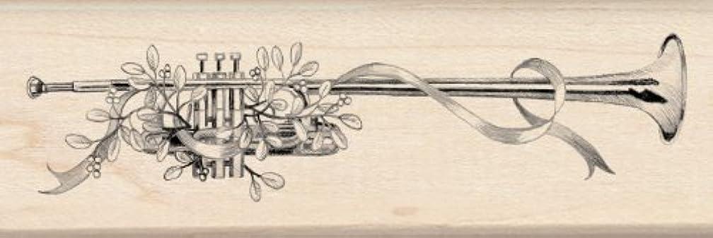 Inkadinkado Wood Stamp, Herald Trumpet