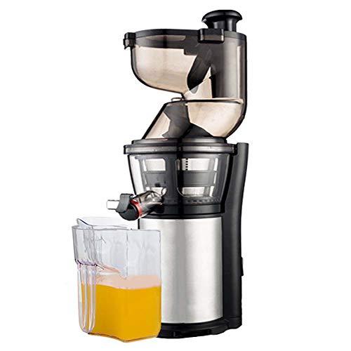 WXYLYF Langsam Juicer Cold Press Juicer Gemüse und Obst Entsafter Entsafter Entsafter Vertikal Inverter-Funktion Leiser Motor Großer Futtertrog