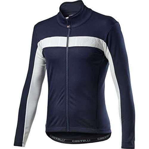 CASTELLI Mortirolo VI Jacket, Chaqueta deportiva para hombre, Hombre, 4520506, Savile Blue, X-Large