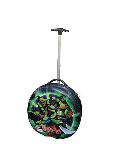 Tmnt Ninja Turtle Hard Shell Pilot Case Carry On Rolling Luggage