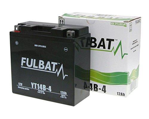 Batterie FULBAT GEL YT14B-4 SLA für YAMAHA MT-01 (EU) 1700 ccm Baujahr 05-12[ inkl.7.50 EUR Batteriepfand ]