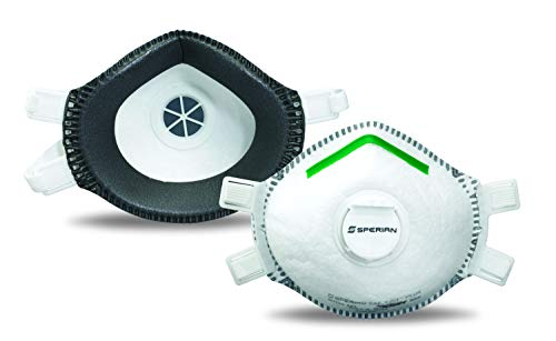 Sperian Honeywell P100 Deluxe Disposable Respirator for Lead Abatement