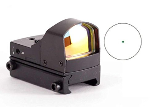 Best Bargain Ultimate Arms Gear Tactical Micro Compact Green Dot Open Reflex Sight With Pistol Rifle...